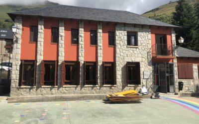 Reforma integrau dera escòla Santa Martí de Gèssa