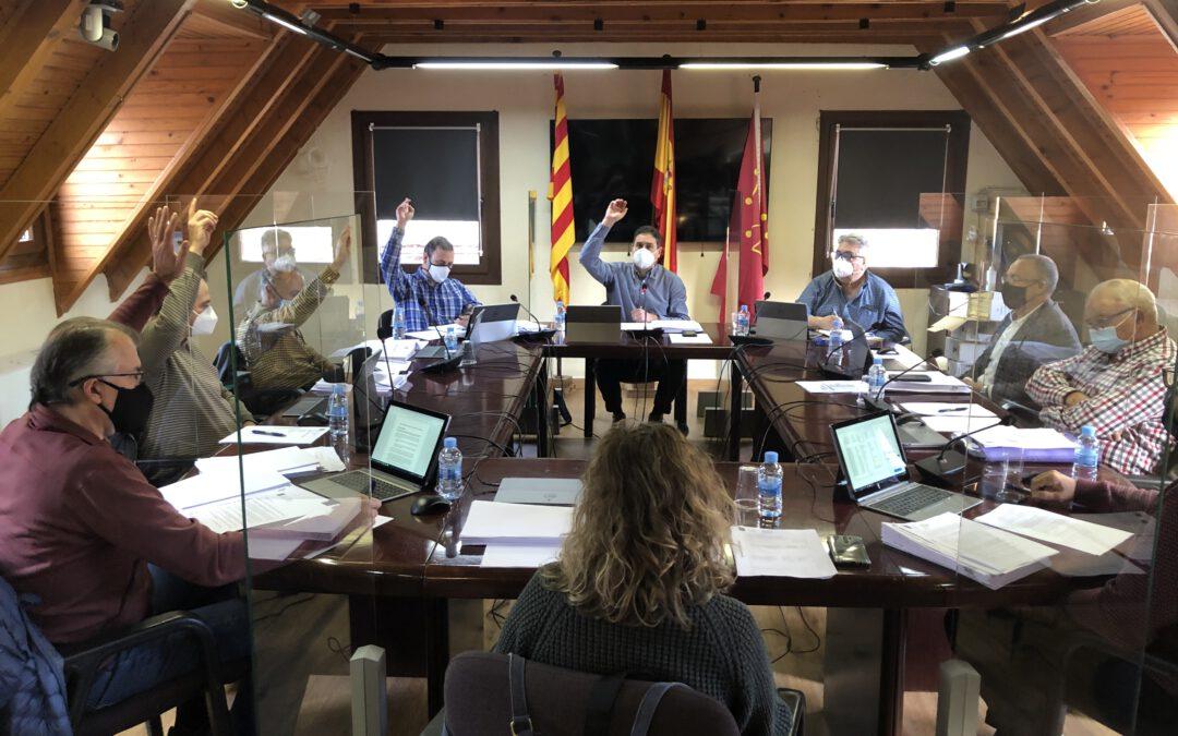 El Ayuntamiento de Naut Aran aprueba una modificación presupuestaria de 906.000 euros en 2020 y un presupuesto de 6.700.000 euros para 2021
