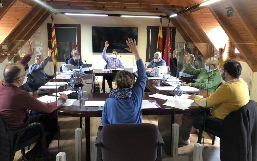 El pleno del Ayuntamiento de Naut Aran aprueba 200.000 euros en ayudas sociales directas